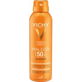 Vichy Capital Soleil neviditelný hydratační sprej SPF 50  200 ml