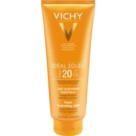 Vichy Idéal Soleil zaščitni vlažilni losjon za obraz in telo SPF 20  300 ml