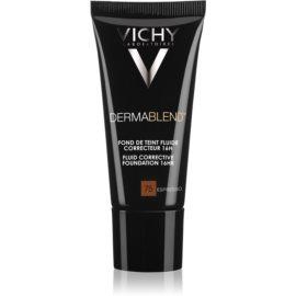 Vichy Dermablend prebase de maquillaje correctora con factor de protección solar UV tono 75 Espresso 30 ml