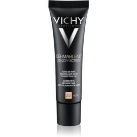 Vichy Dermablend 3D Correction base de maquillaje alisadora SPF 25 tono 25 Nude  30 ml