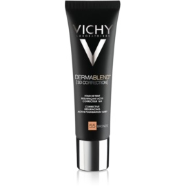 Vichy Dermablend 3D Correction Corrective Smoothing Foundation SPF 25 Color 55 Bronze  30 ml