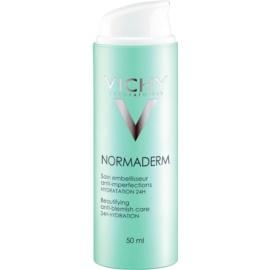 Vichy Normaderm fluido hidratante para adultos propensos a ter imperfeições de pele 24 h  50 ml