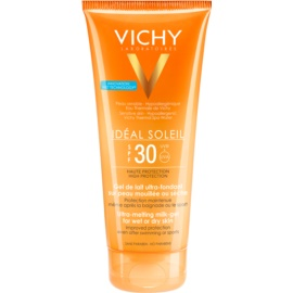 Vichy Idéal Soleil Ultra-Melting Milk Gel for Wet or Dry Skin SPF 30  200 ml