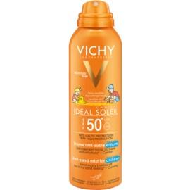 Vichy Idéal Soleil Capital jemný ochranný sprej odpuzující písek pro děti SPF 50+  200 ml