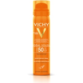 Vichy Idéal Soleil Refreshing Facial Sunscreen Spray SPF 50  75 ml