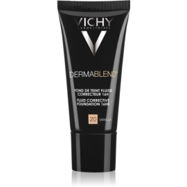 Vichy Dermablend prebase de maquillaje correctora con factor de protección solar UV tono 20 Vanilla 30 ml