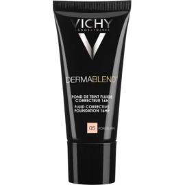 Vichy Dermablend korekčný make-up SPF 35  odtieň 05 Porcelain 30 ml
