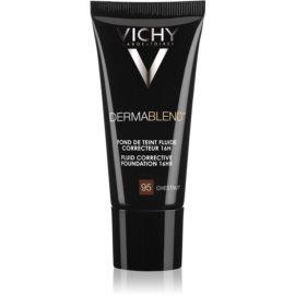 Vichy Dermablend prebase de maquillaje correctora con factor de protección solar UV tono 95 Chestnut 30 ml