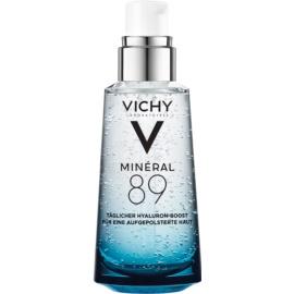 Vichy Minéral 89 sérum facial hidratante e iluminador com ácido hialurônico com ácido hialurónico  50 ml