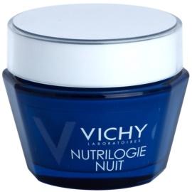 Vichy Nutrilogie nočný intenzívny krém pre suchú až veľmi suchú pleť  50 ml