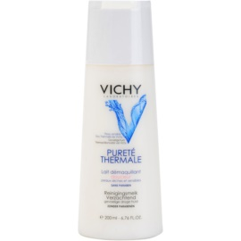 Vichy Pureté Thermale leche desmaquillante para pieles sensibles y secas  200 ml