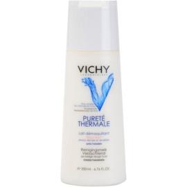 Vichy Pureté Thermale Abschminkmilch für empfindliche trockene Haut  200 ml
