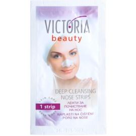 Victoria Beauty Skin Care náplasti na čištění pórů na nose  6 ks