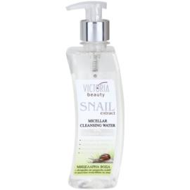 Victoria Beauty Snail Extract reinigendes Mizellarwasser mit Schneckenextrakt  400 ml