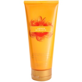 Victoria's Secret Amber Romance Black Cherry, Creme Anglaise and Sandalwood Body Cream for Women 200 ml