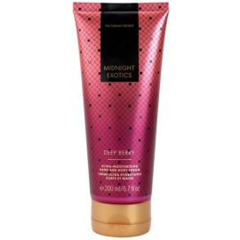 Victoria's Secret Midnight Exotics Deep Berry testkrém nőknek 200 ml