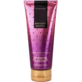 Victoria's Secret Midnight Exotics Forbidden Vanilla tělový krém pro ženy 200 ml