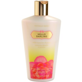 Victoria's Secret Hello Darling tělové mléko pro ženy 250 ml