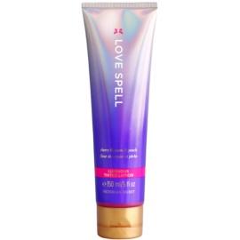 Victoria's Secret Love Spell Luminous tělové mléko pro ženy 150 ml tónovací krém se třpytkami