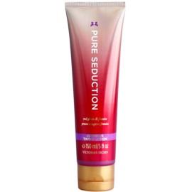 Victoria's Secret Pure Seduction Red Plum & Fresia  tělové mléko pro ženy 150 ml třpytivé tělové mléko