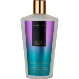 Victoria's Secret Midnight Exotics Sensual Jasmine tělové mléko pro ženy 250 ml