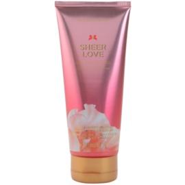 Victoria's Secret Sheer Love White Cotton & Pink Lily crema corporal para mujer 200 ml