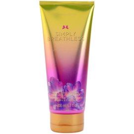 Victoria's Secret Simply Breathless Körpercreme für Damen 200 ml