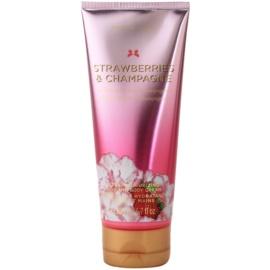 Victoria's Secret Strawberry & Champagne Körpercreme für Damen 200 ml