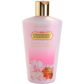 Victoria's Secret Strawberry & Champagne leite corporal para mulheres 250 ml