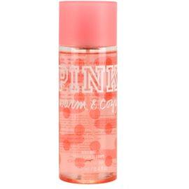 Victoria's Secret Pink Warm and Cozy spray de corpo para mulheres 250 ml