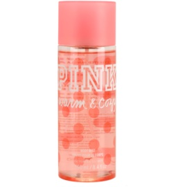 Victoria's Secret Pink Warm and Cozy tělový sprej pro ženy 250 ml