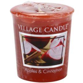 Village Candle Apple Cinnamon viaszos gyertya 57 g