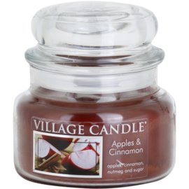 Village Candle Apple Cinnamon vonná svíčka 269 g malá