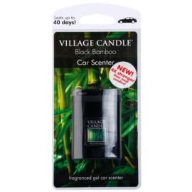 Village Candle Black Bamboo ambientador de coche para ventilación 35 g
