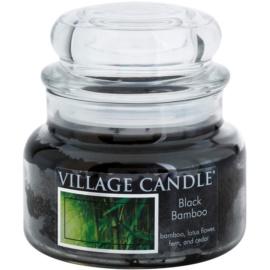 Village Candle Black Bamboo vonná sviečka 269 g malá