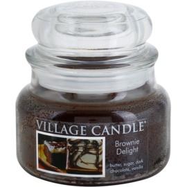 Village Candle Brownies Delight vonná svíčka 269 g malá