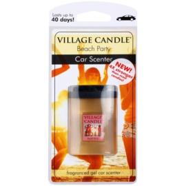 Village Candle Beach Party vôňa do auta 35 g