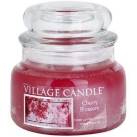 Village Candle Cherry Blossom vonná svíčka 269 g malá