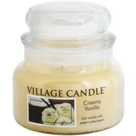 Village Candle Creamy Vanilla vonná svíčka 269 g malá