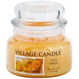 Village Candle Juicy Melon Duftkerze  269 g kleine