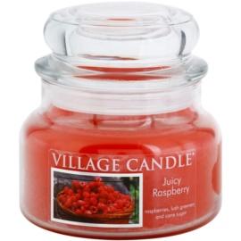 Village Candle Juicy Raspberry vonná svíčka 269 g malá