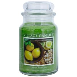 Village Candle Lemon Pistachio vonná svíčka 645 g velká