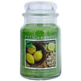 Village Candle Lemon Pistachio vonná sviečka 645 g veľká