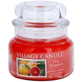 Village Candle Pink Grapefruit illatos gyertya  269 g kicsi