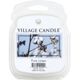 Village Candle Pure Linen vosk do aromalampy 62 g