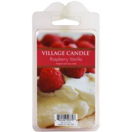 Village Candle Raspberry Vanilla Wachs für Aromalampen 62 g