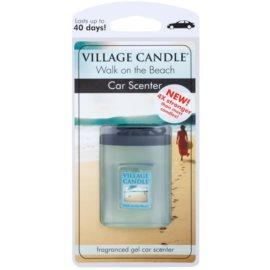 Village Candle Walk on the Beach vůně do auta 35 g