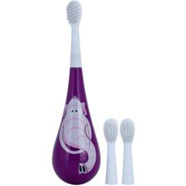 Violife Rockee Ellie zubní kartáček pro děti + 2 náhradní hlavice