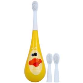 Violife Rockee Quackie escova de dentes para crianças + 2 cabeças substituíveis