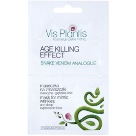 Vis Plantis Age Killing Effect ráncelleni arcmaszk kígyóméreggel  2 x 5 ml